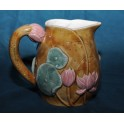 Majolic Water Lilly Serving Pitcher